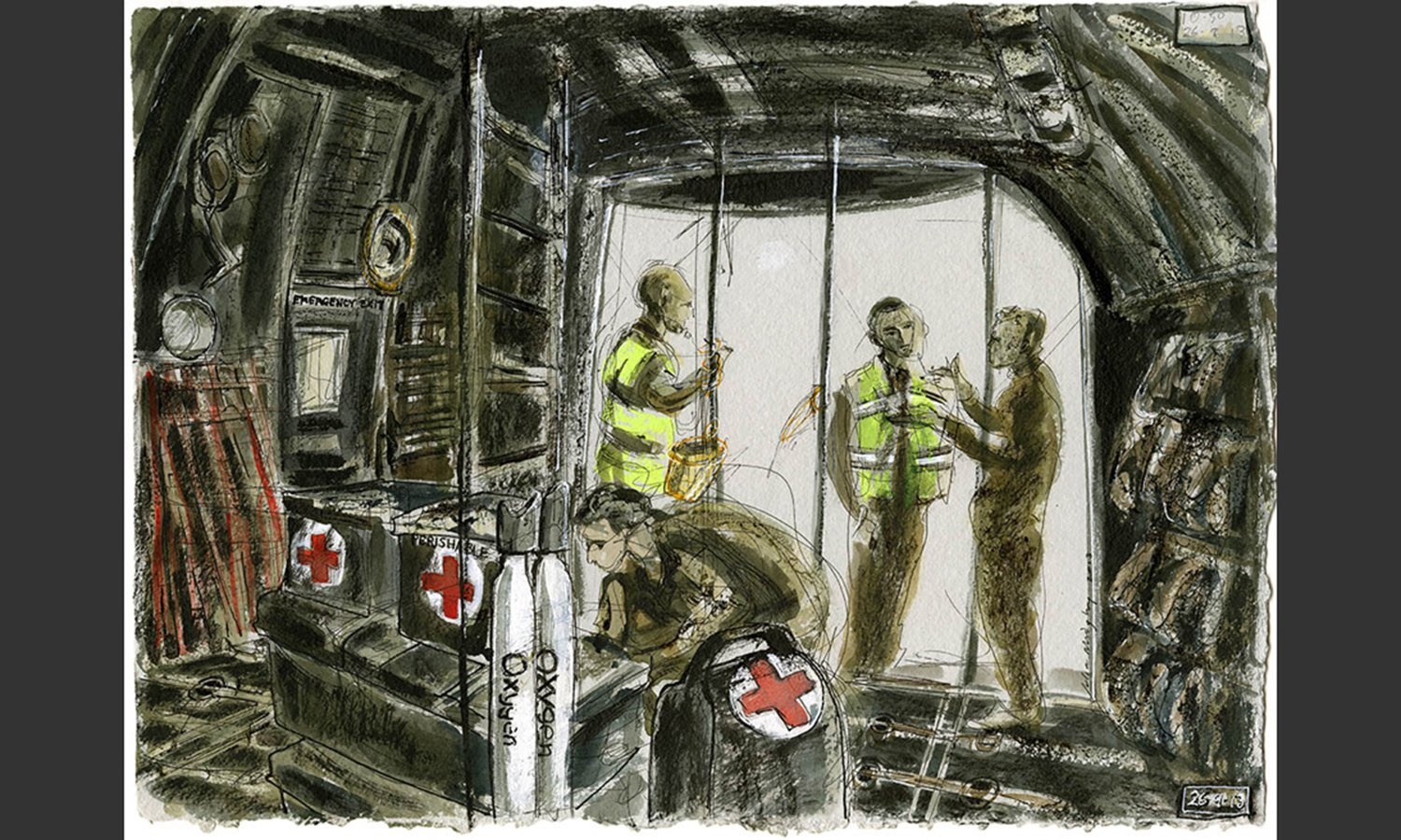 'Inside The Hercules' by Julia Midgley